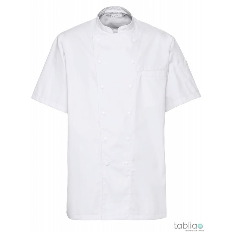 Kochjake schwarz mit orange - Tablia SARL - Vêtements de travail