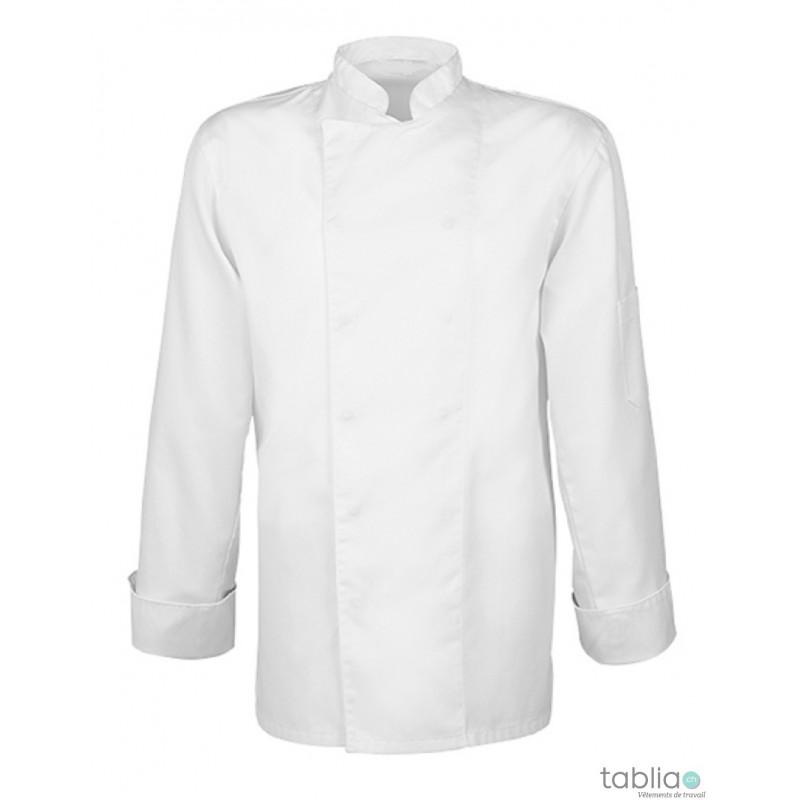 Vestes de cuisine pression