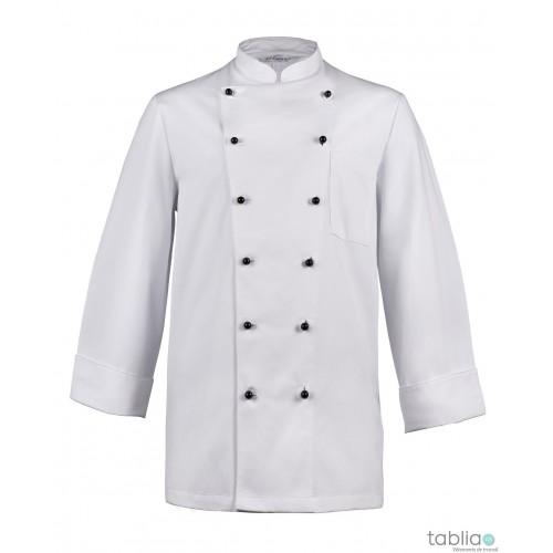 Veste de cuisine à boutons