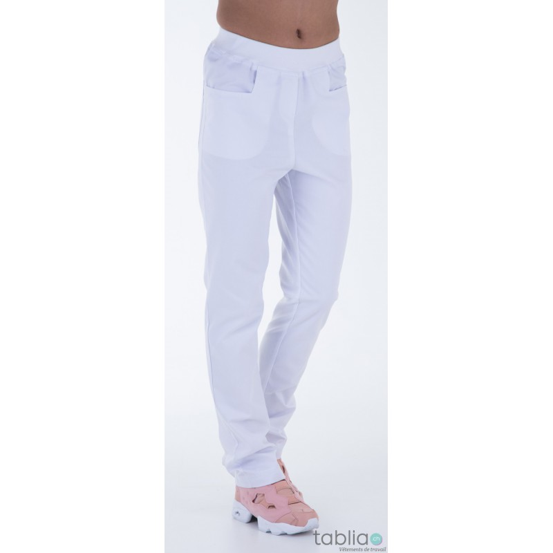 Pantalons blanc petite taille