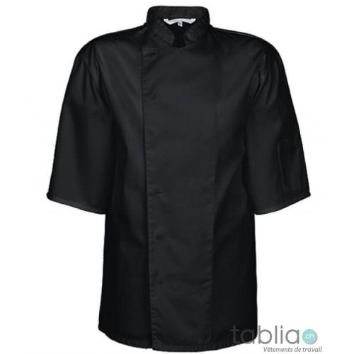 Vestes de cuisine à pression