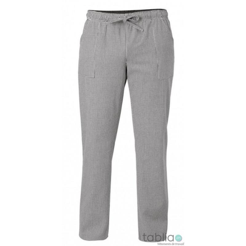 Pantalons de boulanger taille élastique