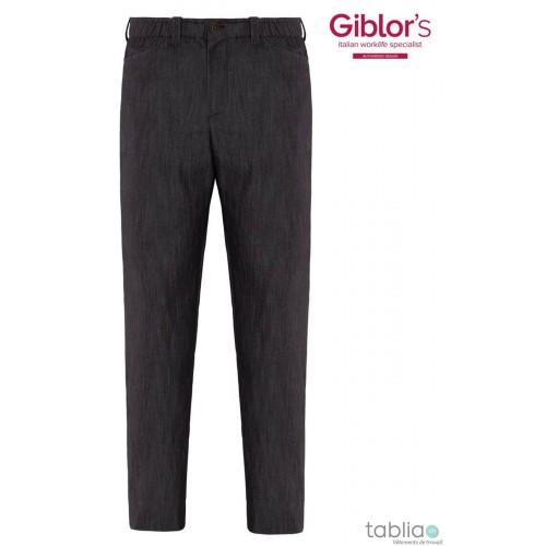 Pantalons stretch style jeans noir