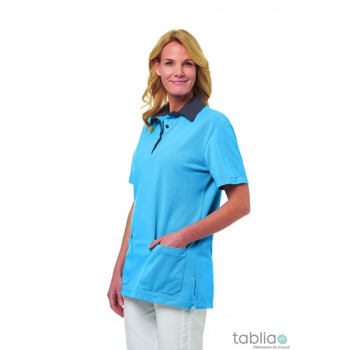 Polo unisex bi-colors