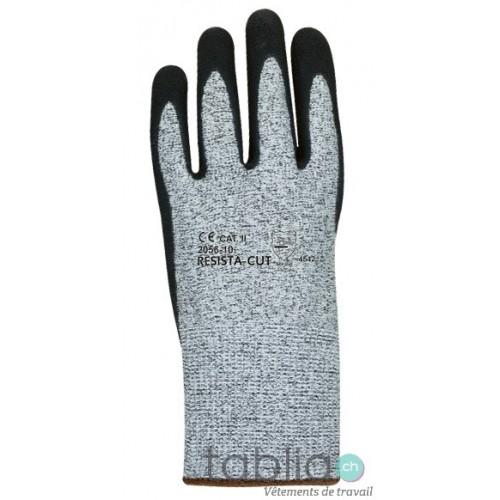 Gants de protection anti-coupures EN 388, 4342D, CE