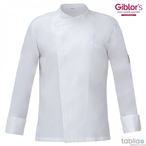Chef Jacket slim fit white