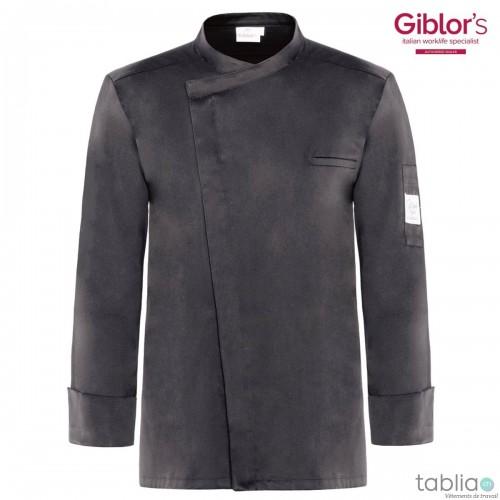 Chef Jacket slim fit grey