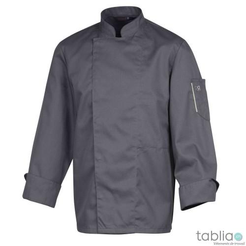 Chef jackets Robur Nero