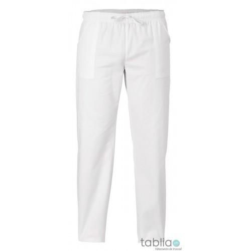 Pantalons unisexe blanc