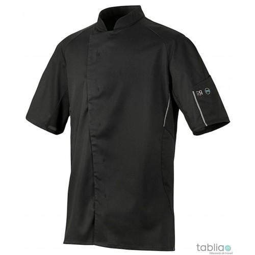 Veste de cuisine unisex noir benak