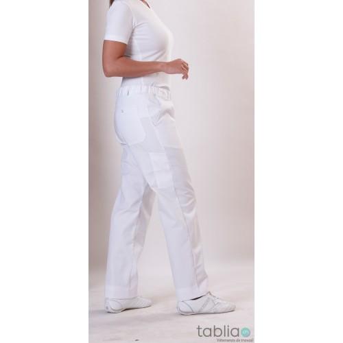 Pantalons femme taille élastique