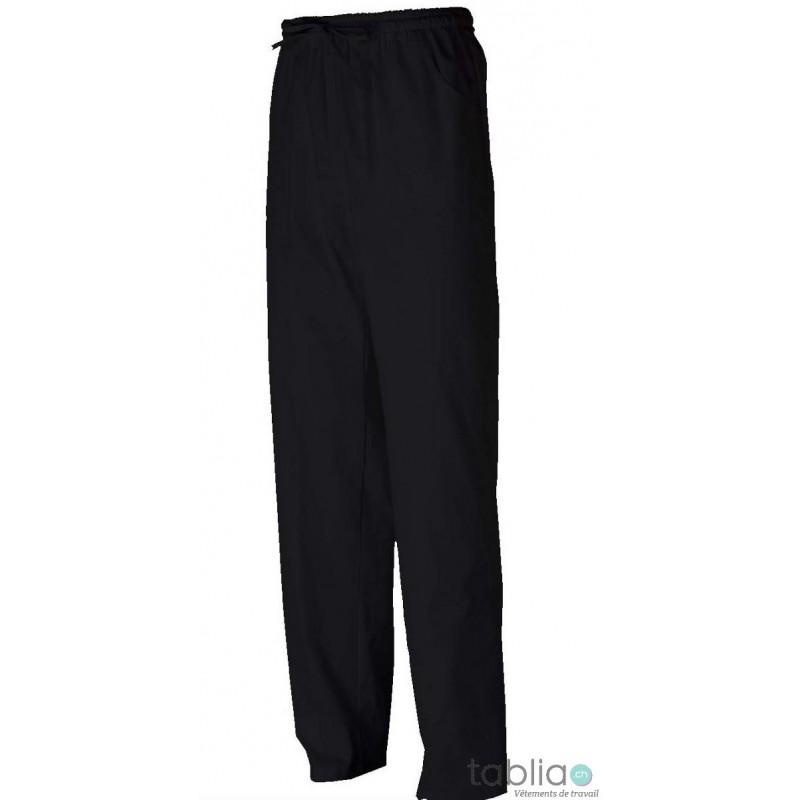 Pantalons noir taille élastique