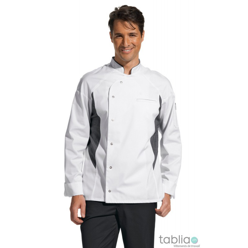 Vestes de cuisine stretch respirant