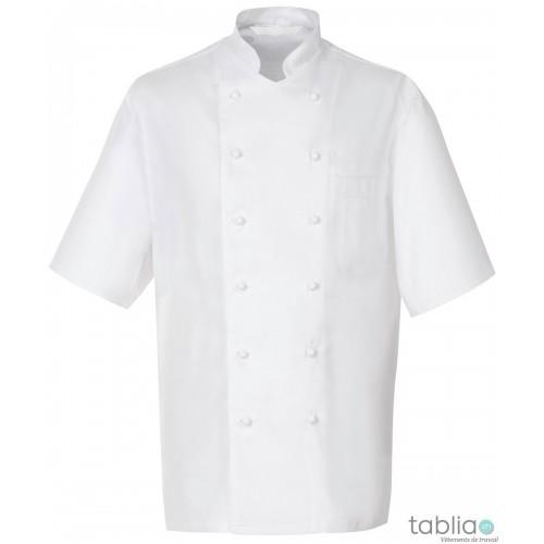 Veste de cuisine à boutons M/C